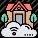 smart, home, online, control, remote