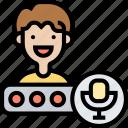 speech, engine, voice, recorder, sound