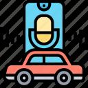 vehicle, control, voice, smart, car