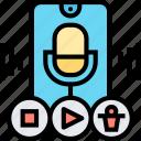voice, forward, recorder, sound, audio