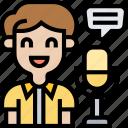 voice, recognition, speech, record, speaker