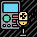 voice, recorder, microphone, audio, sound
