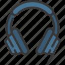 headphones, headset, dj, music