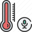 voice, temperature, control, thermometer, heating