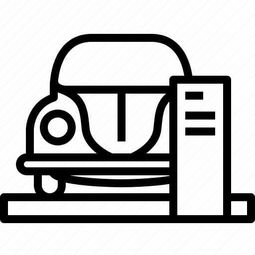bug, car, dealer, showroom, vehicle, vw, yumminky icon