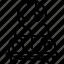 bug, car, mechanic, repair, service, vw, yumminky icon