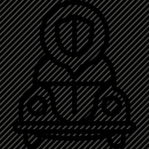 bug, car, protection, security, shield, vw, yumminky icon