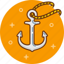 anchor, boat, fisherman, sail, sailor, ship icon