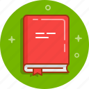 book, bookmark, bookshop, information, library, novel, read icon