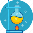 bulb, chemistry, experiment, lab, laboratory, science icon