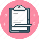 business, clipboard, document, file, task, tasklist icon