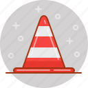cone, construction, road, road construction, safety, traffic, warning icon