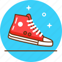 converse, shoe, snickers, sport, trainers, wear icon