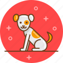 animal, dog, friend, pet, puppy icon