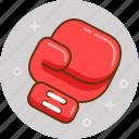 box, boxing, fight, glove, wrestling icon