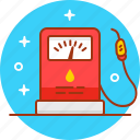 gas, gas station, petrol, petrol station, pit stop, station icon