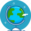 geography, globe, map, planet, sphere, world icon