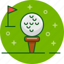 ball, game, golf, gulf, play, sport, tee icon
