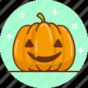 halloween, jack o'lantern, lamp, pumpkin icon