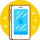 apple, device, gadget, iphone, phone, smartphone icon