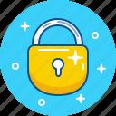 close, door, key, lock, pad, safe icon