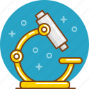 biology, lab, laboratory, microscope, science, study, zoom icon