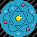 atom, molecula, particle, physics, science icon