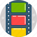 film, movie, photo, shoot, video icon
