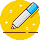 edit, fill in, form, marker, pen, write, writer icon