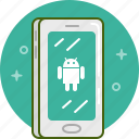 android, device, gadget, google, phone, smartphone icon