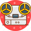 film, music, player, record, recorder, tape icon