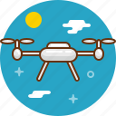 copter, drone, multicopter, quadrocopter icon