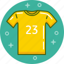 clothing, football, shirt, sport, t-shirt, top icon