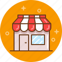 bakery, boutique, buy, cafe, grocery, shop icon