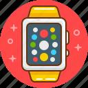 apple, apple watch, device, iphone, smart, watch icon