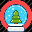 christmas, snow, snowball, souvenir, winter icon