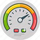 car, dashboard, drive, fast, speed, speedometer icon
