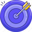 aim, goal, result, shoot, target icon