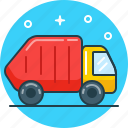 car, eco, environment, rubbish, trash icon