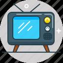 box, program, show, television, tv, watch icon