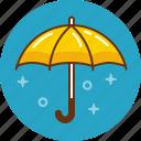 hail, protection, rain, umbrella, weather icon