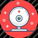 camera, conference, device, skype, video, webcam icon