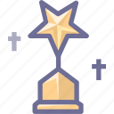 achievements, award, cup, recognition, trophy, win, winner icon