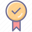 choice, good, great, medal, nice, vote, winner icon