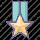 achievement, medal, win, winner icon