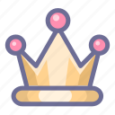 king, rate, royalty, vote, win, winner icon