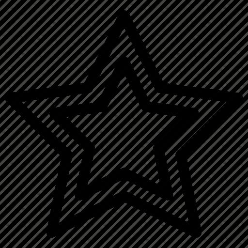 achievement, award, favorite, full, star icon