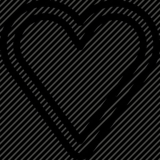 favorite, full, heart, like, love icon