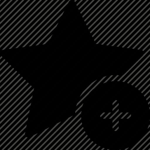 add, award, new, rating, star icon