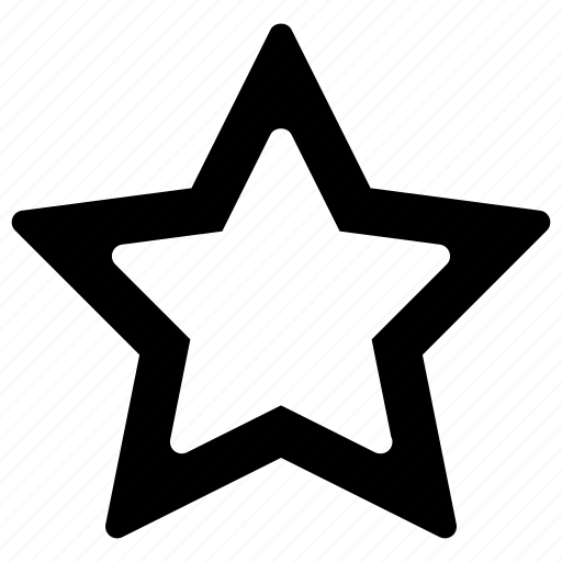 bookmark, favorite, full, like, star icon